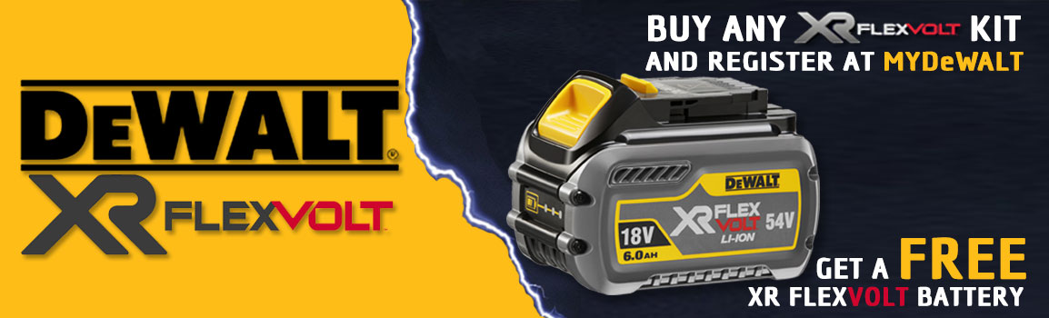 DeWALT 54V Battery Offer