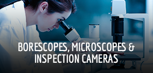 Borescopes, Microscopes & Inspection Cameras
