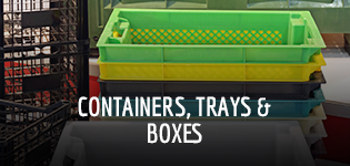 Containers, Trays & Boxes