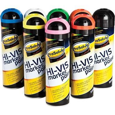 Prosolve hi vis flourescent spray paint available online - Minimum temperature for painting ...