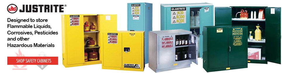 Justrite Cabinets · Justrite Cabinets ...