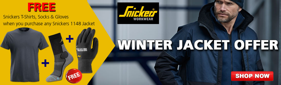 Snickers Winter Jacket Offer