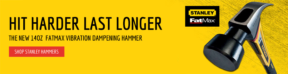 the new 14oz  fatmax vibration dampening hammer