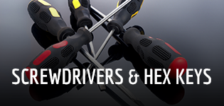 Screwdrivers & Hex Keys