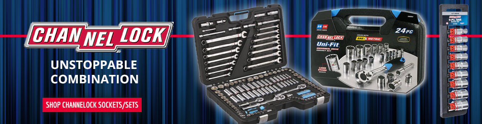Channellock Sockets and Socket Sets