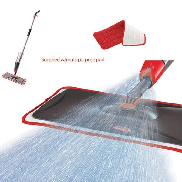 RUBBERMAID Reveal Spray Flat Mop Kit Available Online   Caulfield Industrial