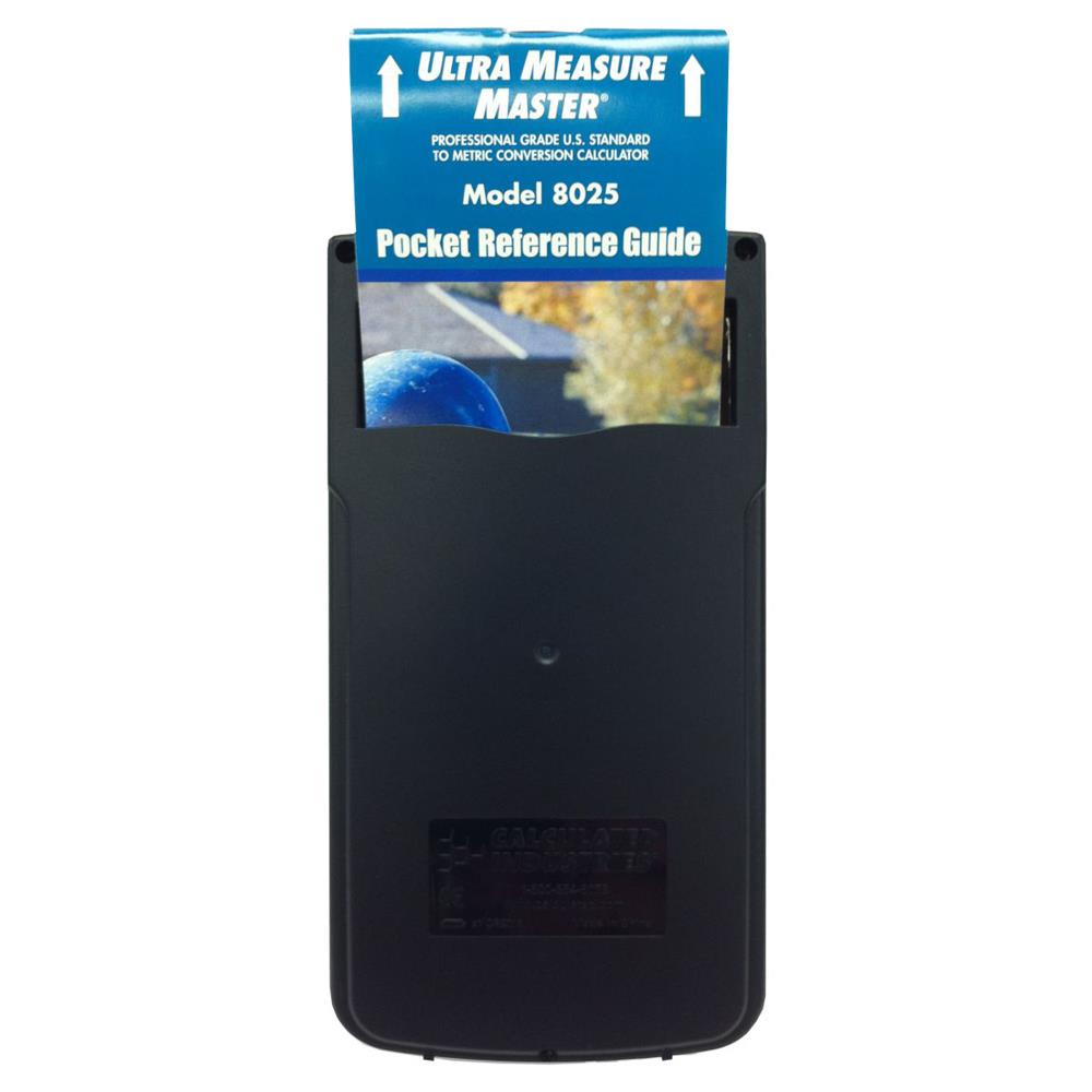 Calculated Industries 8025 Ultra Measure Master Calculator available online  - Caulfield Industrial