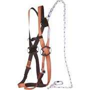 Facility Maintenance & Safety Energy Shock Absorber Karabiner Ropes, Cords & Slings Delta Plus An201200cc Fall Arrest Rope Lanyard