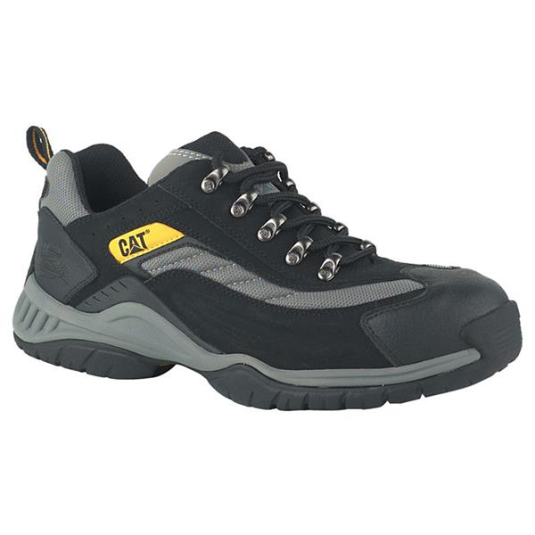 975a218ca23 Caterpillar Moor Steel Toe SB Black Safety Trainers available online ...