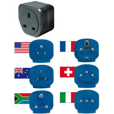 Brennenstuhl 1508063 Gb Travel Adapter Plugs Available