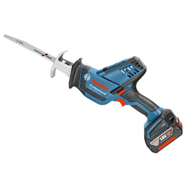 34efdf91ae6 Bosch GSA 18 V-LI C Professional 18 Volt Compact Cordless Sabre Saw, 2 x  5.0Ah Batteries