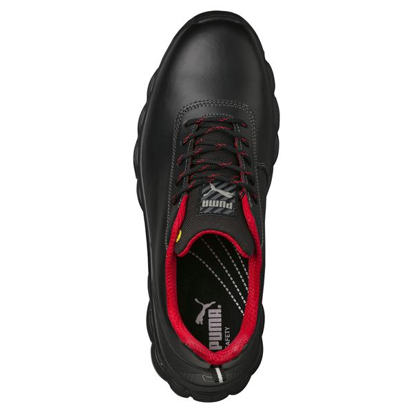 Puma Pioneer Low S3 ESD SRC Black Grey Safety Shoes available online -  Caulfield Industrial a1ef80396571