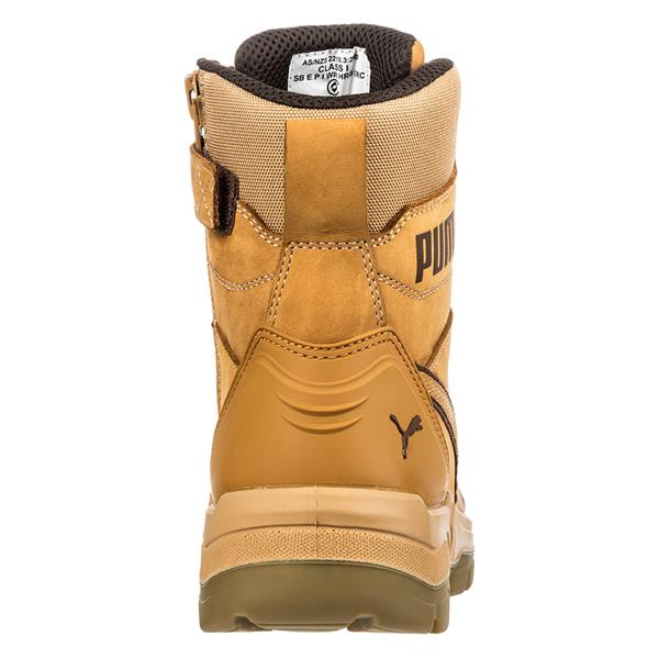 Puma Conquest High S3 HRO SRC Wheat Safety Boots available online -  Caulfield Industrial 56c0a2adc