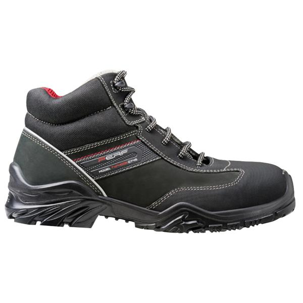9f2d8790f93 Perf Typhoon High S3 SRC Black Safety Boots available online ...