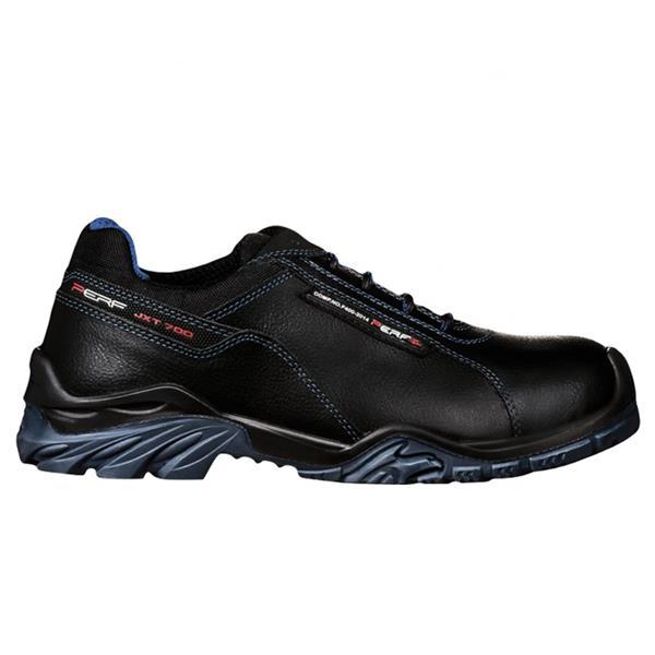 Perf Tornado Low S3 SRC Black Blue Safety Shoes available online ... d4c2e6c354f