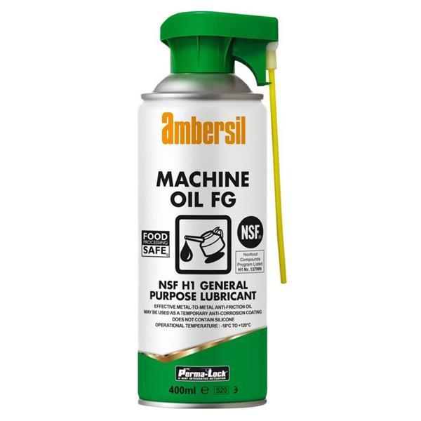 Ambersil 30247 400ml Perma-Lock Food Grade Machine Oil available