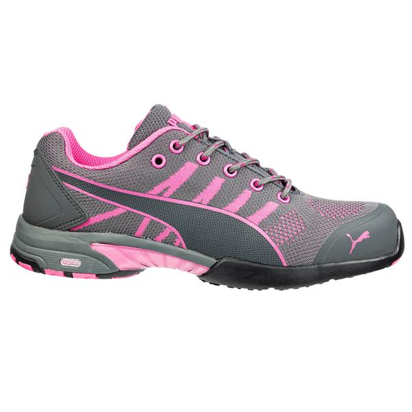 78cf0311966 Puma Celerity Knit Wns Low S1 Grey Pink Safety Shoes available ...